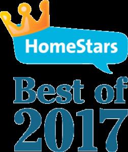 Homestars Best of 2017 Badge
